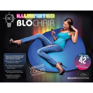 Illuminated Inflatable Blo Chair 43''