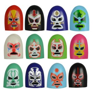 Luchadores Thumb Wrestlers Bulk - Bag of 100 - 20 Bags per Case