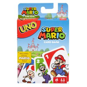 Super Mario Brothers Uno Game