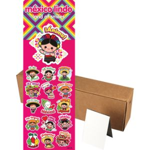 Mexico Lindo Stickers in Folders (300 pcs)