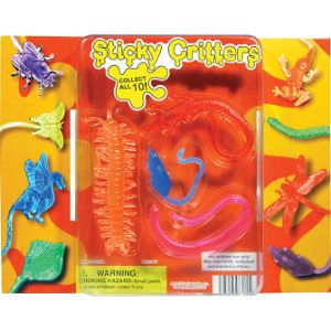 Sticky Critters Blister Display