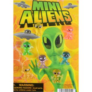 Mini Aliens Series 10 Live Display Card