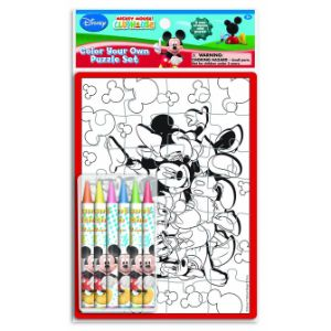 Mickey Mouse Clubhouse Color Your Own Puzzle