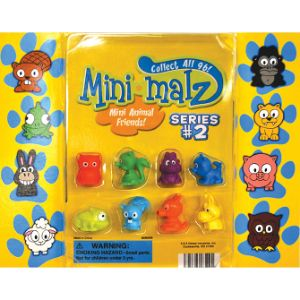 Mini-malz Series 2 Figurines Blister Display
