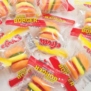eFrutti Gummi Mini Burgers Display Box (60 pcs)