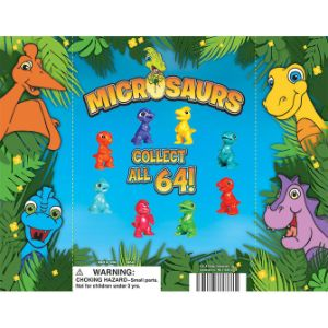 Microsaurs Figurine Display Card
