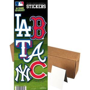 MLB Baseball Stickers Series 2 in Folders (300 pcs)