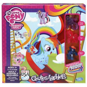 My Little Pony Chutes & Ladders