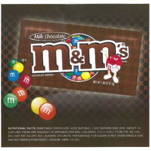 M&M's Plain Candies - Case (6 pcs)