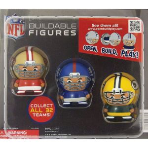 NFL Capsule Buildable Figurines Blister Display