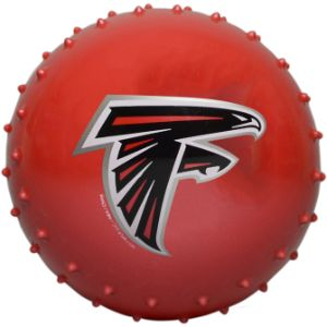 5'' NFL Inflatable Knobby Atlanta Falcons Balls (100 pcs)