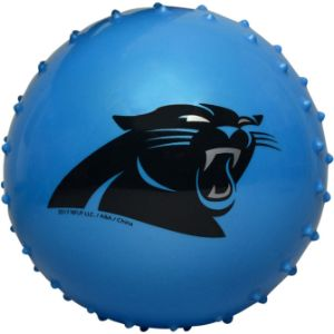 5'' NFL Inflatable Knobby Carolina Panthers Balls (100 pcs)