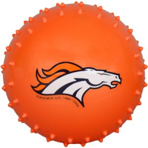 5'' NFL Inflatable Knobby Denver Broncos Balls (100 pcs)