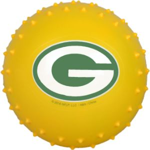 5'' NFL Inflatable Knobby Green Bay Packers Balls (100 pcs)