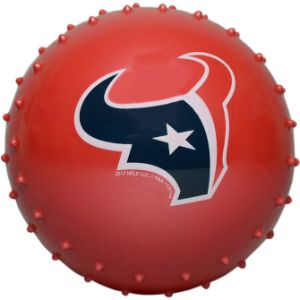 5'' NFL Inflatable Knobby Houston Texans Balls (100 pcs)