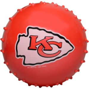 NFL Inflatable Knobby Kansas City Chiefs Balls, 5''