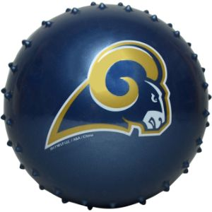 NFL Inflatable Knobby Los Angeles Rams Balls, 5''