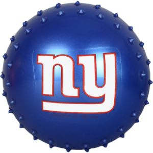 5'' NFL Inflatable Knobby New York Giants Balls (100 pcs)