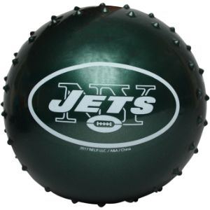 NFL Inflatable Knobby New York Jets Balls, 5''