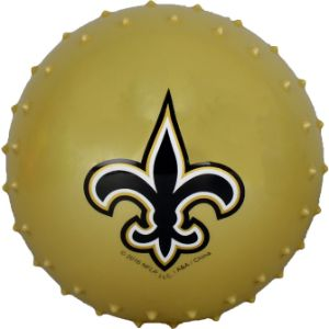 5'' NFL Inflatable Knobby New Orleans Saints Balls (100 pcs)