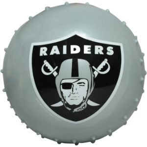 NFL Inflatable Knobby Oakland Raiders Balls, 5''