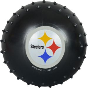 5'' NFL Inflatable Knobby Pittsburgh Steelers Balls (100 pcs)