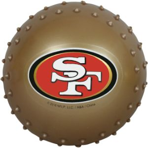 5'' NFL Inflatable Knobby San Francisco 49ers Balls (100 pcs)