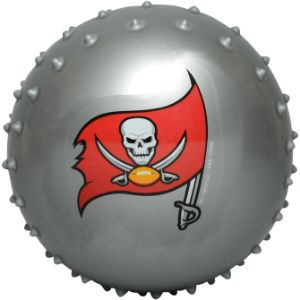 NFL Inflatable Knobby Tampa Bay Buccaneers Balls, 5''