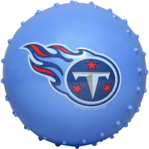 5'' NFL Inflatable Knobby Tennessee Titans Balls (100 pcs)
