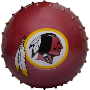 5'' NFL Inflatable Knobby Washington Redskins Balls (100 pcs)