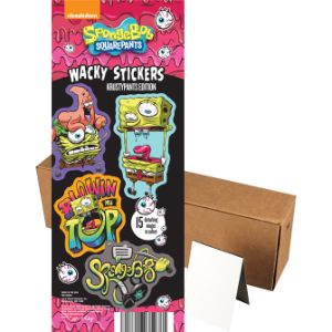 SpongeBob Wacky Stickers in Folders (300 pcs)