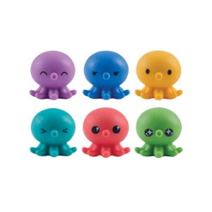 Octo Squishies Toys in Bulk Bag (100 pcs)