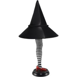 Wizard of Oz Witch Leg Lamp 20in