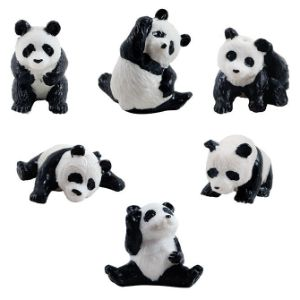 Playful Pandas Figurines in 2'' Capsules (250 pcs)