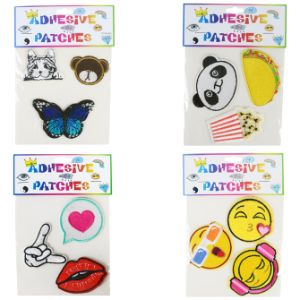 Adhesive Trendy Patches Assorted Styles