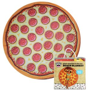 Pizza Beach Towel 60in
