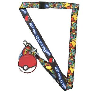 Pokémon Group Lanyard