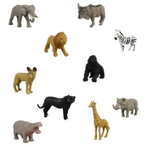 Pocket Safari Figurines in 2'' Capsules (250 pcs)