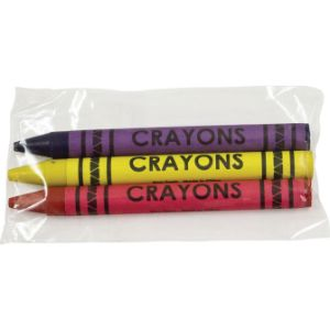 Cello 3 pack Crayons (1000 pcs)