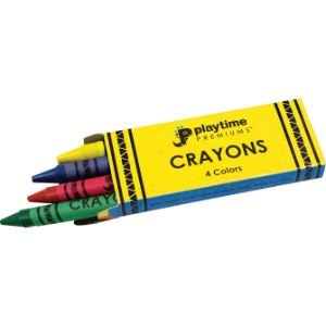 Box 4 pack Crayons (720 pcs)