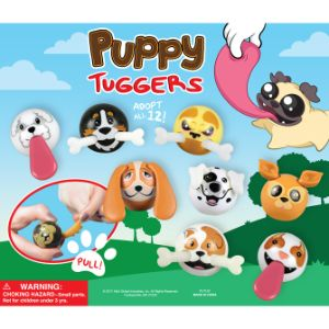 Puppy Tuggers Display Card