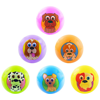 Inflatable PuppyPalz Balls, 5''