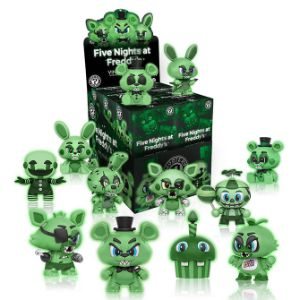 Hanging Five Nights At Freddy's Glow-in-the-Dark Mystery Mini Kit (12 pcs)