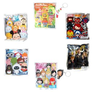 Hanging Blind Bag Keychain 36pc $5.00avg Kit