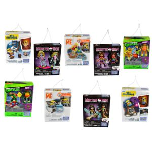 Hanging Mega Bloks Kit $8.00avg (12 pcs)
