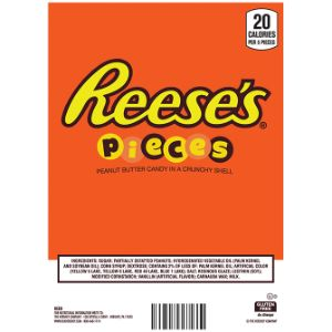 Reese's Pieces Candies Display Card