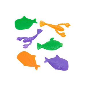Plastic Sea Animals 2''-3'' in Bulk Bag (144 pcs)