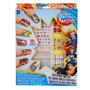 DC Super Hero Girls Super Nail