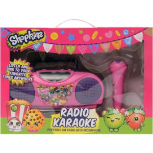 Shopkins Karaoke Radio Kit