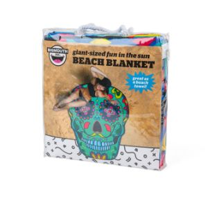 Skull Beach Towel 60''